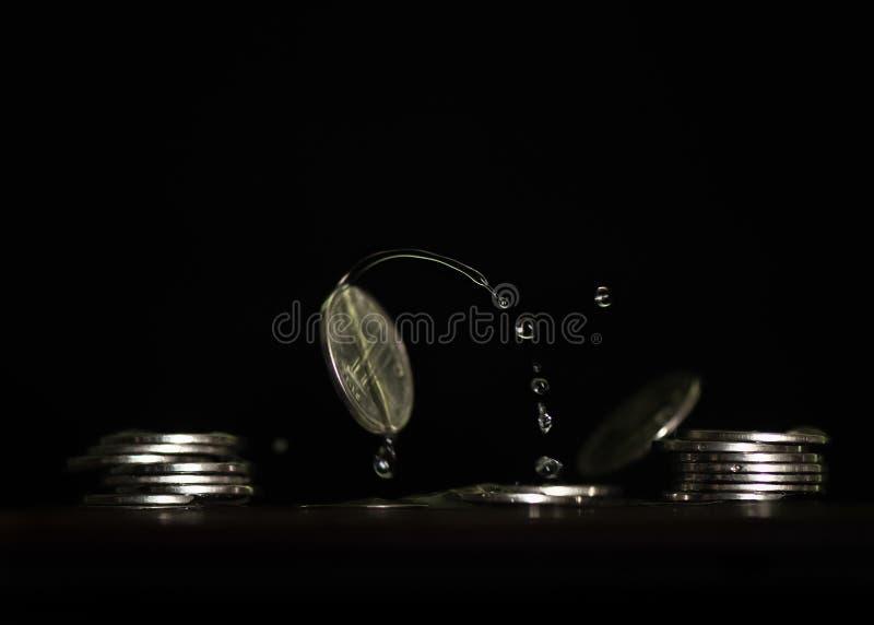 Konst av pengar arkivbilder