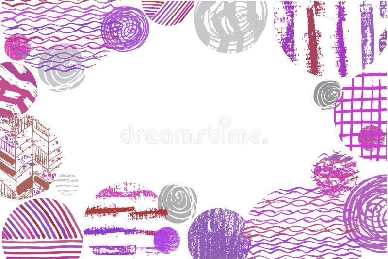 Konst background2 stock illustrationer