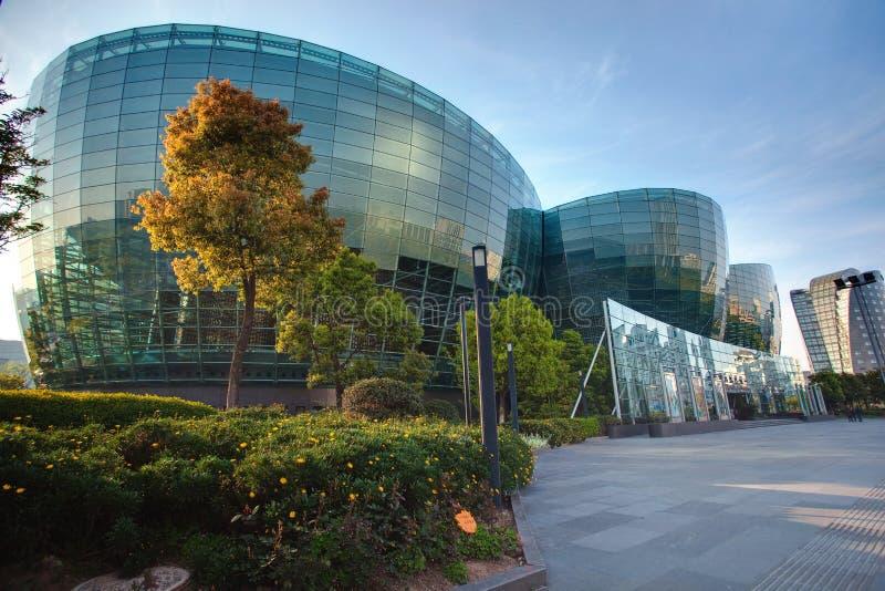 konst center orientaliska shanghai fotografering för bildbyråer