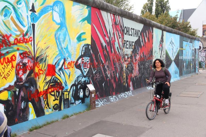 Konst för Berlin vägg arkivbilder