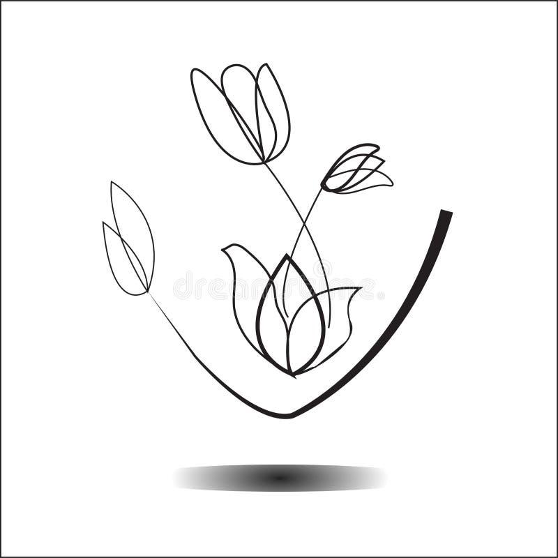 Konst för framsidamaskering royaltyfri illustrationer