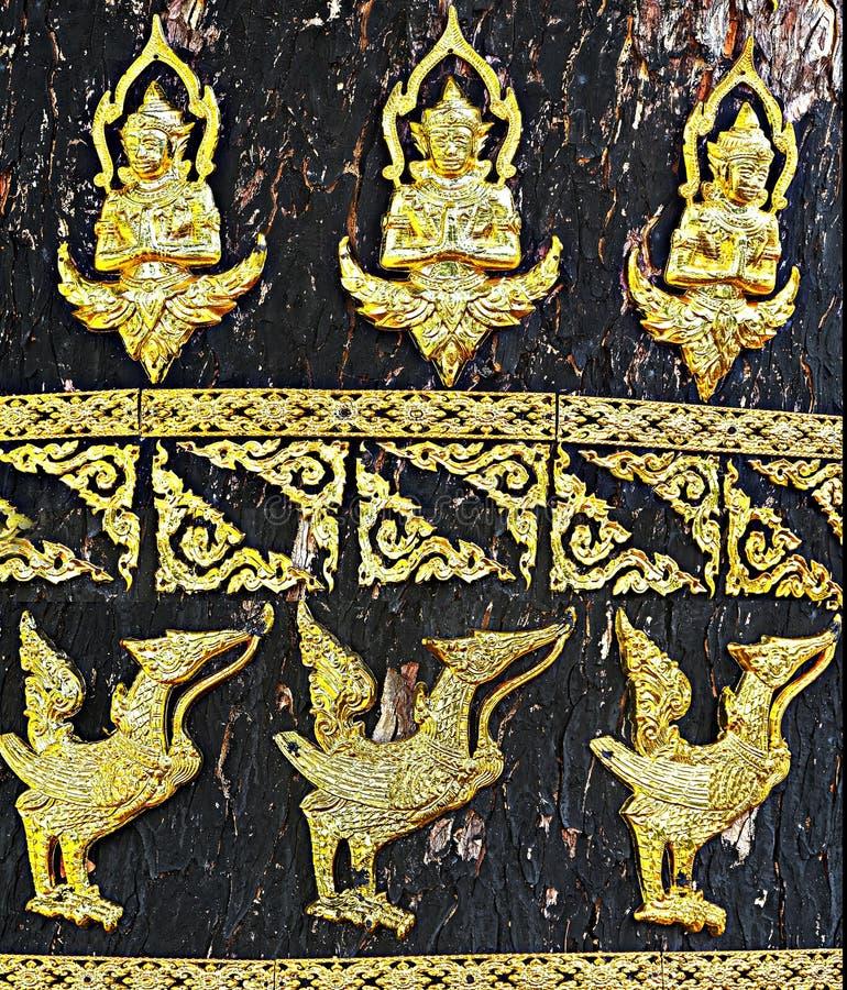 konst på träd royaltyfri fotografi