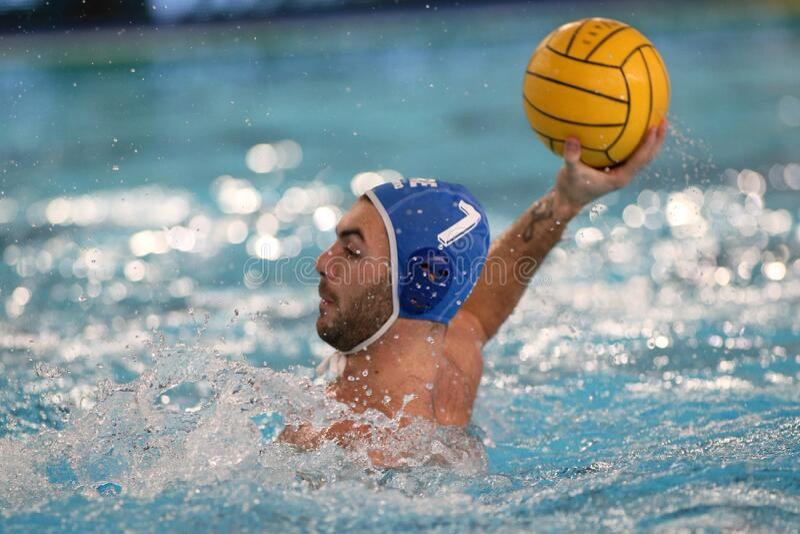 Waterpolo International Teams International Quadrangular - Hungary vs Greece royalty free stock photography