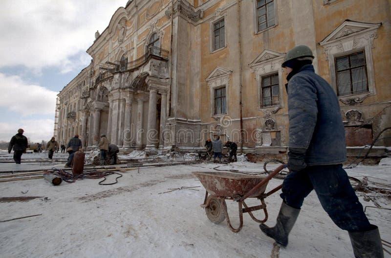 konstantinovsky дворец стоковые фото