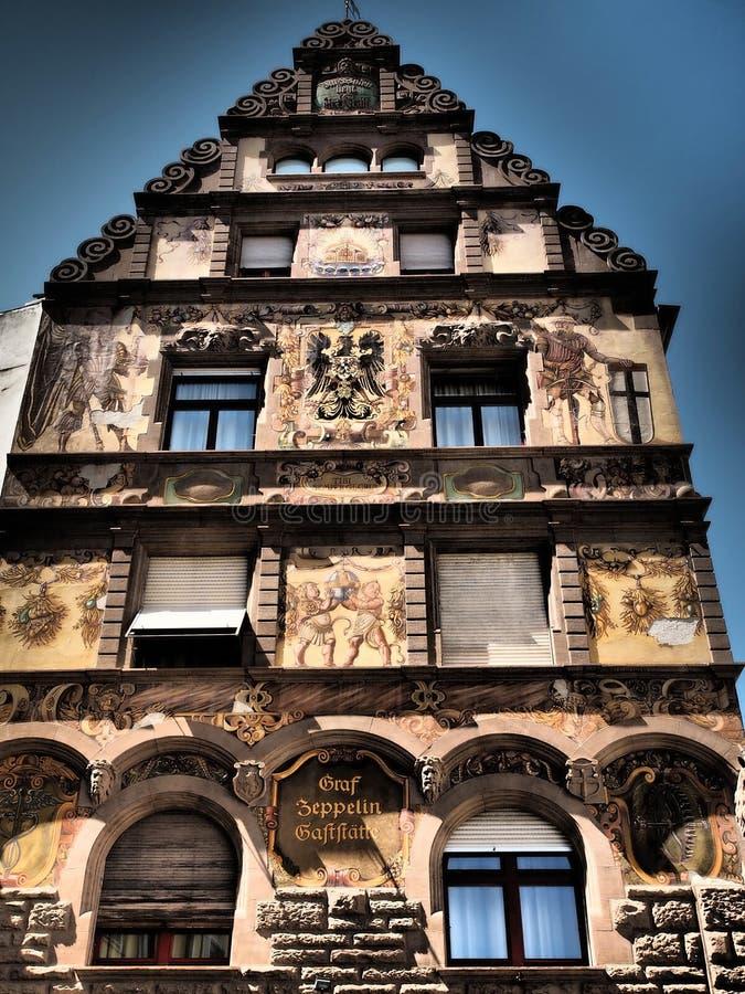 Konstanz - πανέμορφη ιστορική πόλη - Γερμανία στοκ εικόνες