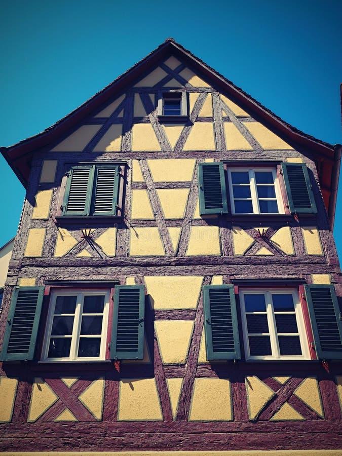 Konstanz - πανέμορφη ιστορική πόλη - Γερμανία στοκ εικόνα