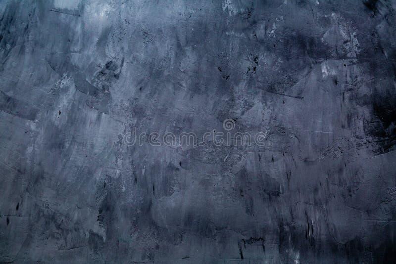 Konstbetong- eller stentextur för bakgrund i svarta, gråa och vita färger Cement- och sandv?gg av signaltappning arkivbilder