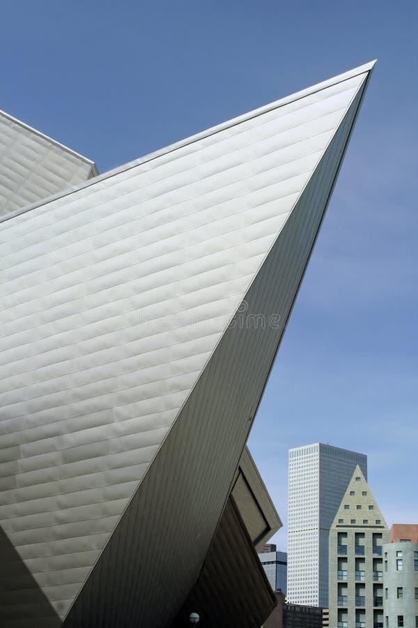 konstdenver museum arkivbild