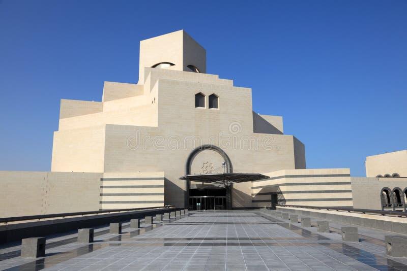 konstdoha islamiskt museum arkivfoton