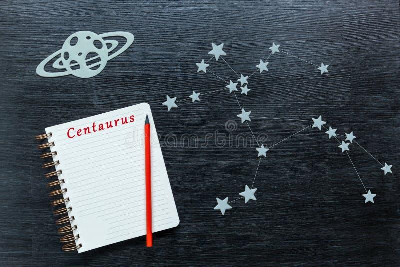 Konstellationer Centaurus arkivfoto