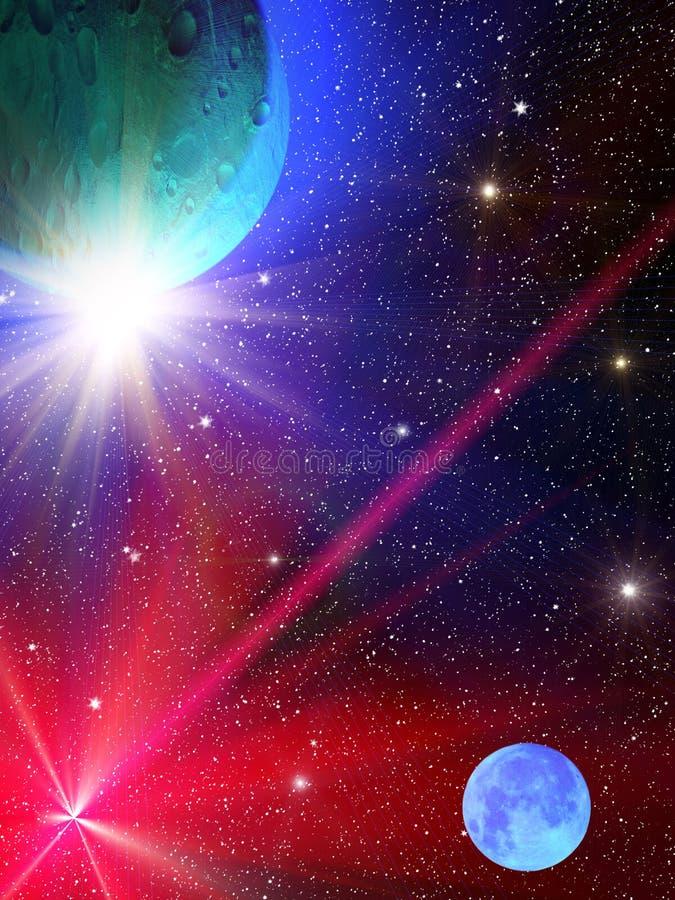 konstellationskystjärnor arkivbild