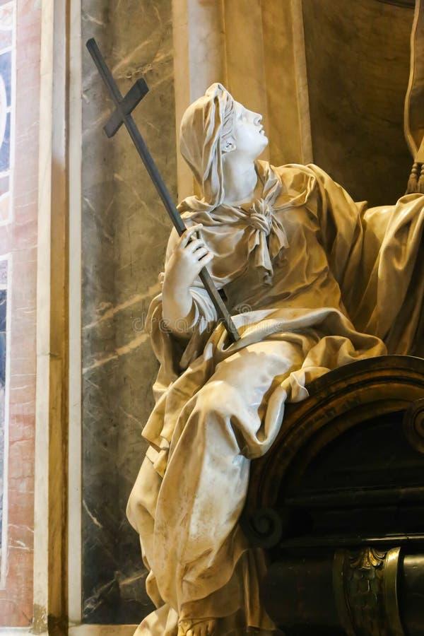 Konster av basilikan för St Petero, Vaticanen arkivbilder