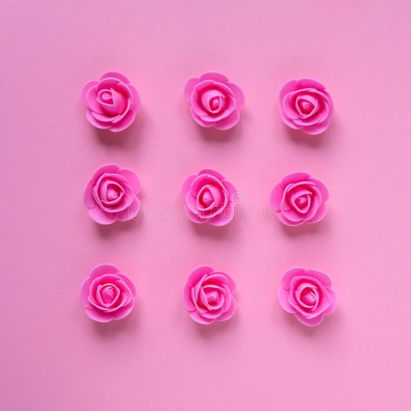 konstgjorda rosa ro royaltyfria foton