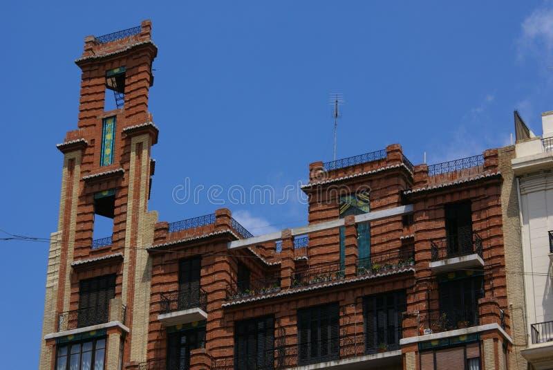 Konstig byggnad fotografering för bildbyråer