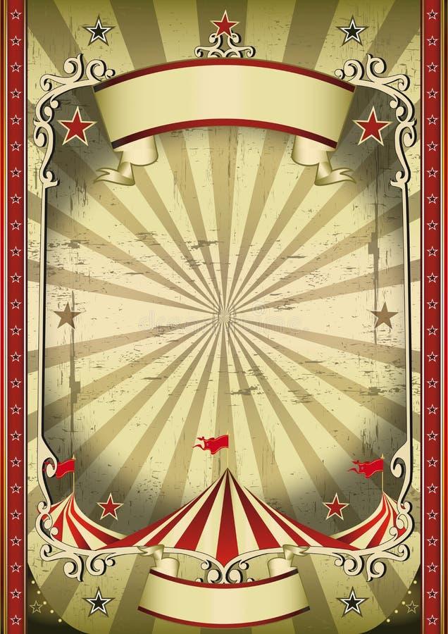 konstig cirkus royaltyfri illustrationer