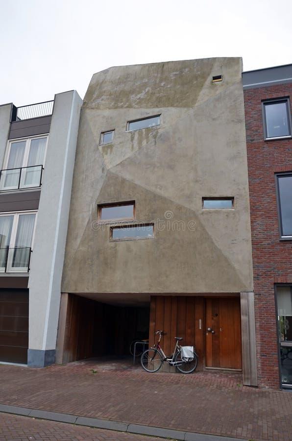 konstig facade av en byggnad i amsterdam fotografering f r bildbyr er bild av konstigt. Black Bedroom Furniture Sets. Home Design Ideas