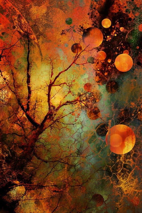 konstig skog arkivbild