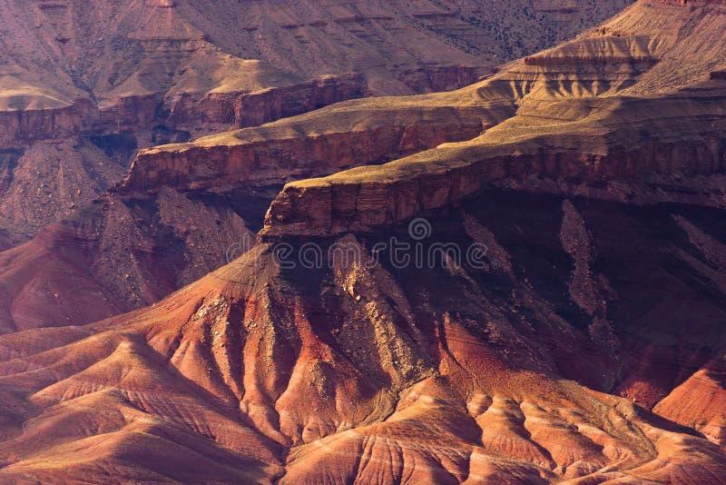Konstiga former av ocks av Grand Canyon royaltyfri foto