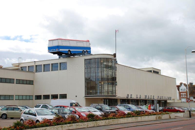 Konstinstallation, Bexhill-på-Hav royaltyfri bild
