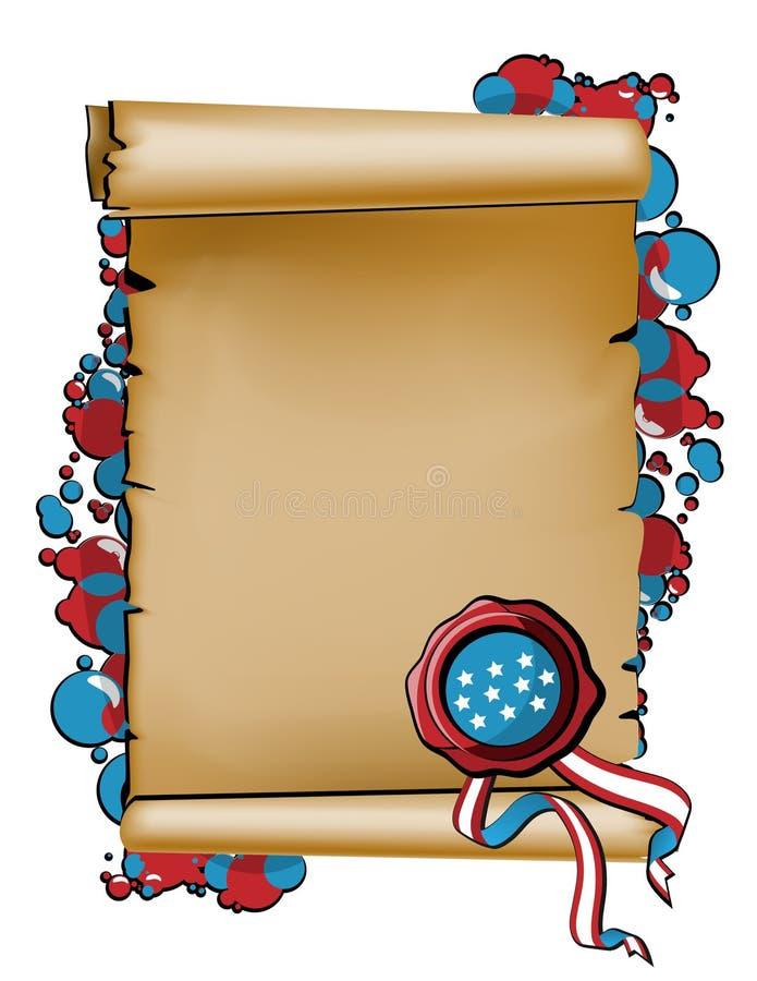 Konstitution-Tag und Citizenship_2 lizenzfreie abbildung
