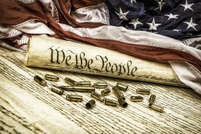 Konstitution und Kugeln lizenzfreie stockfotografie
