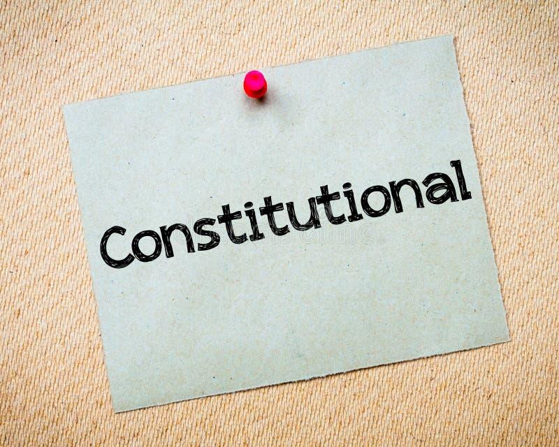 konstitutionellt arkivfoton