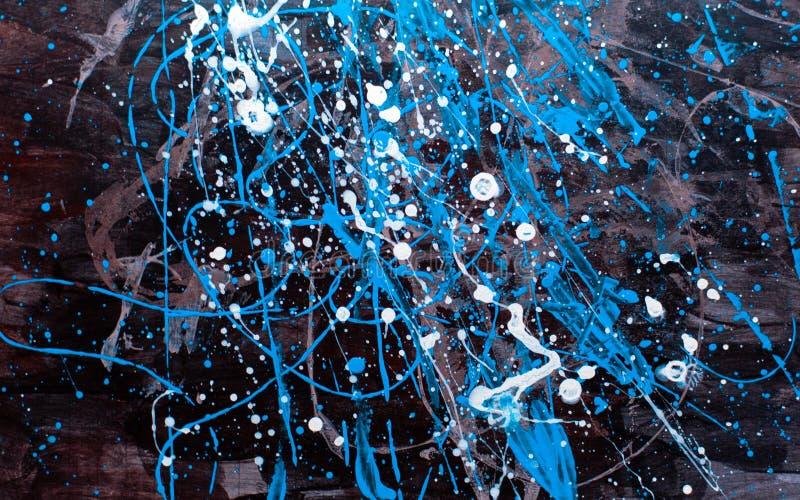 Konstnärlig bakgrund med färgstänk arkivfoto