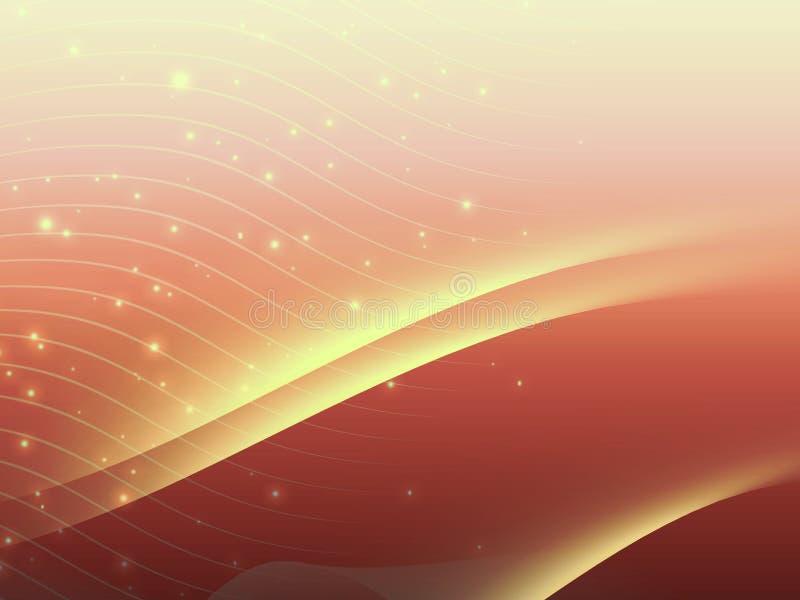 Konstnärlig färgrik abstrakt bakgrund royaltyfri illustrationer