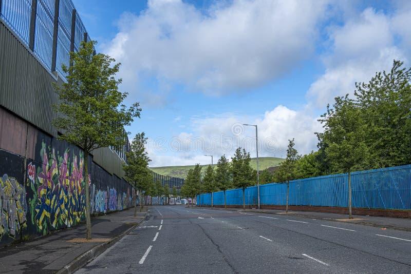Konstnärlig huvudväg arkivfoton