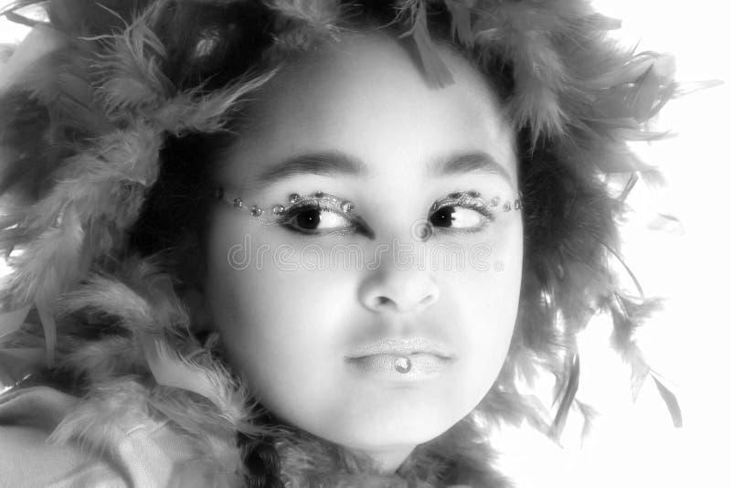 konstnärlig makeup arkivfoto