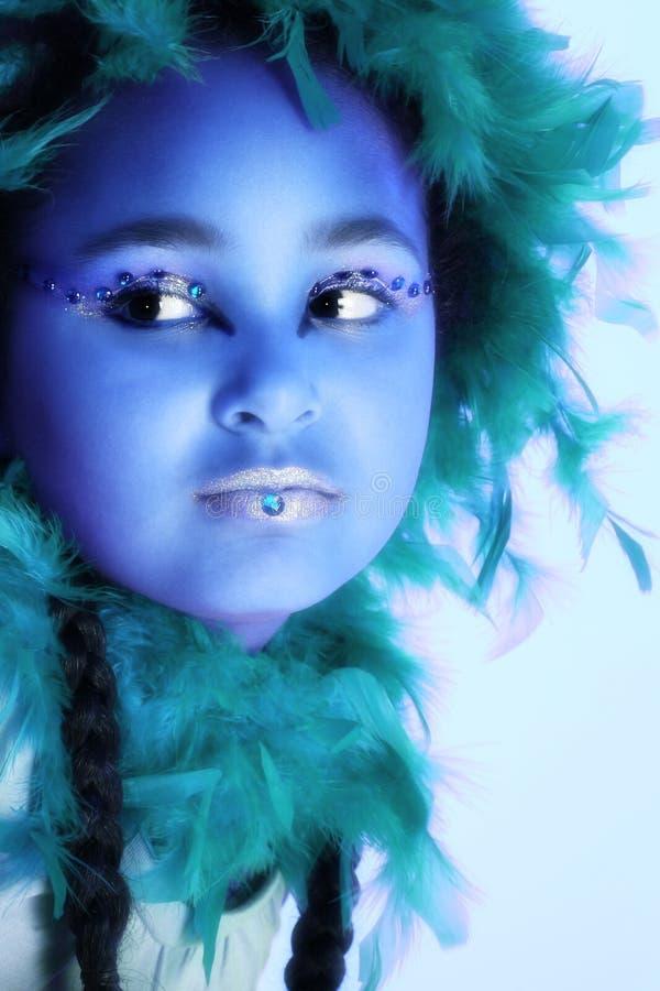konstnärlig makeup arkivfoton