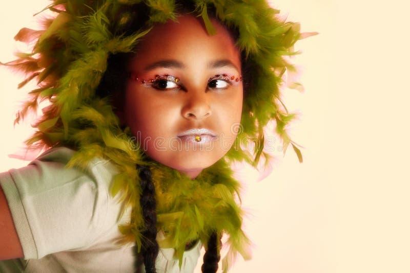 konstnärlig makeup royaltyfria bilder