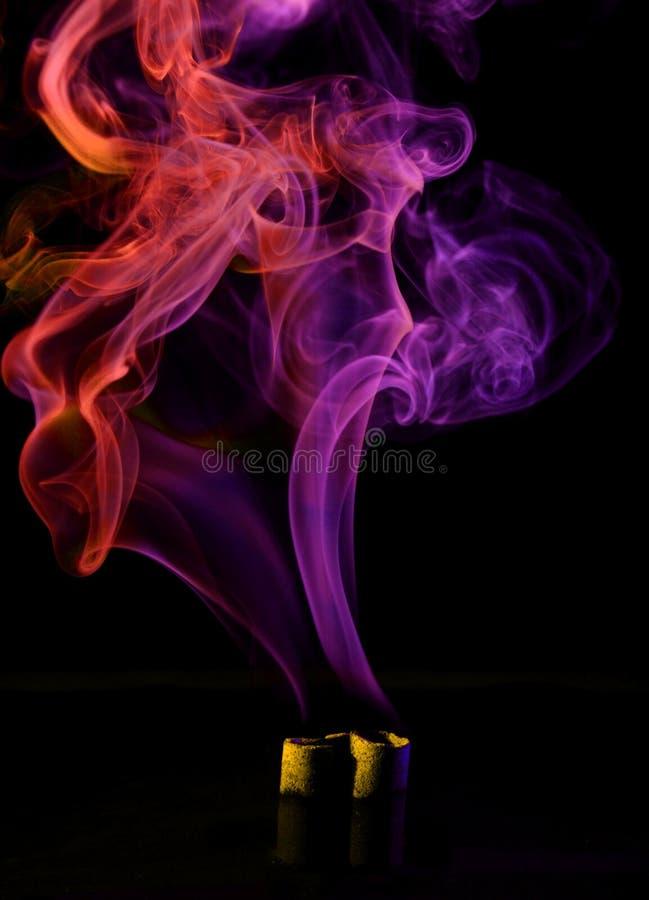 Konstnärlig rök arkivfoto