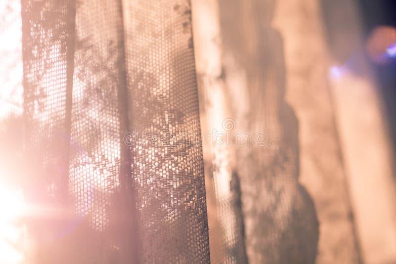 Konstnärlig stil-skugga och tända abstrakt bakgrund solljus till och med fönster i morgon vård- begreppsidé för livsstil fotografering för bildbyråer