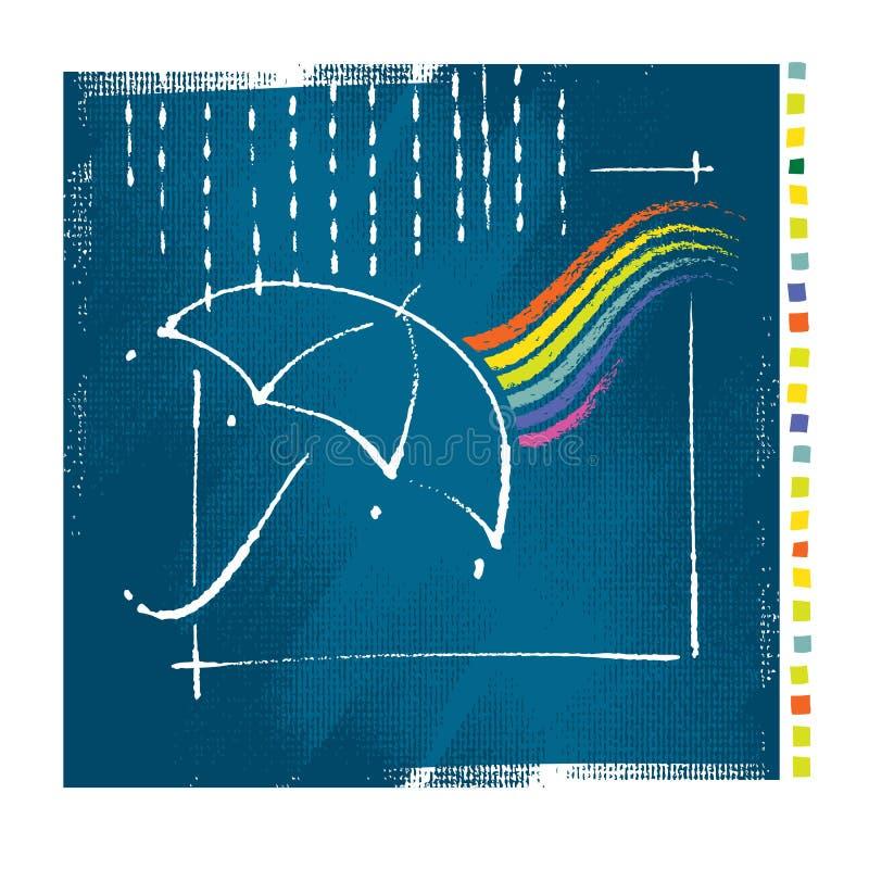 Download Konstnärligt Symbolsstilparaply Vektor Illustrationer - Illustration av dekorativt, elegantt: 19775234