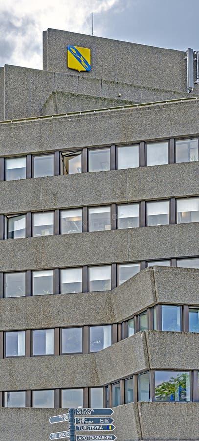 Konstrukcja betonowa wysokoÅ›ciowca zdjęcia stock