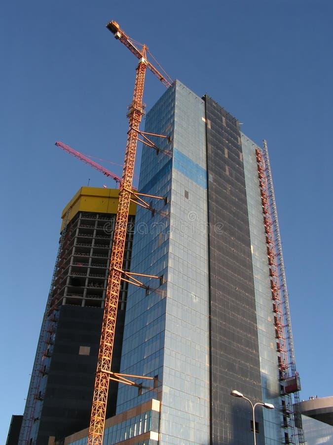 konstrukcja budynku interesu zdjęcia stock