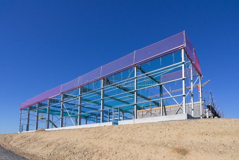 Konstrukcyjny steelwork obrazy stock