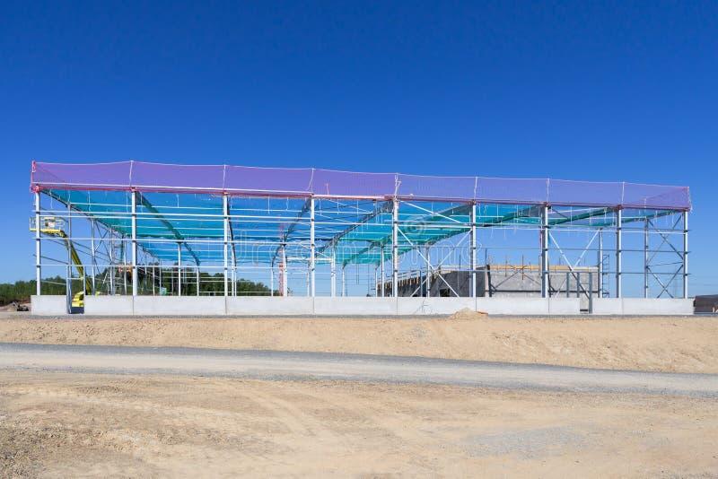 Konstrukcyjny steelwork zdjęcie stock