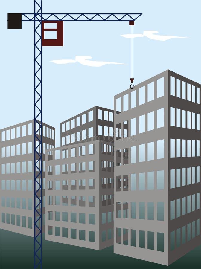konstruktion royaltyfri illustrationer