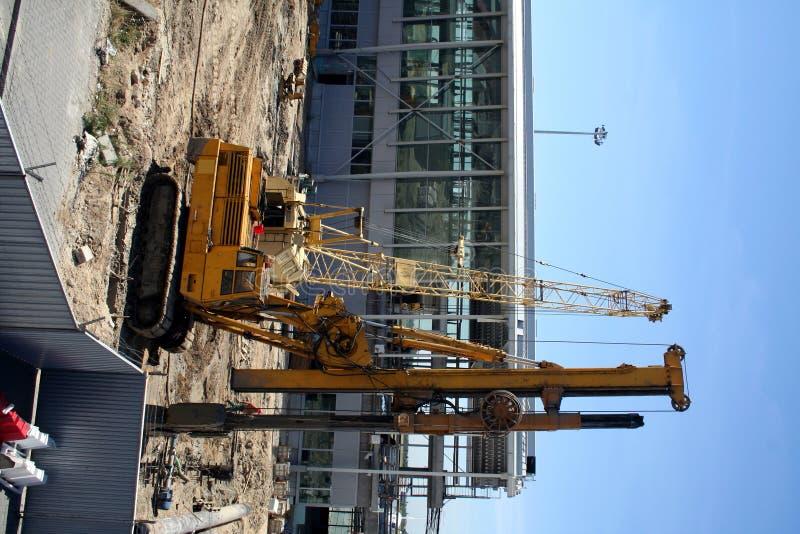 konstruktion för 2 flygplats royaltyfria foton
