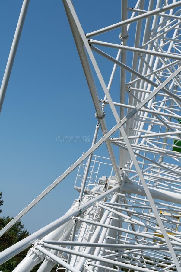 Konstruktion f?r modell f?r struktur f?r metall f?r arkitekturdetalj modern royaltyfria bilder