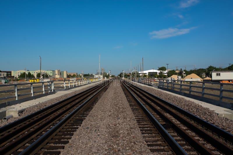 Konstruktion Maj 2019 f?r Waverley gatag?ngtunnel arkivbilder