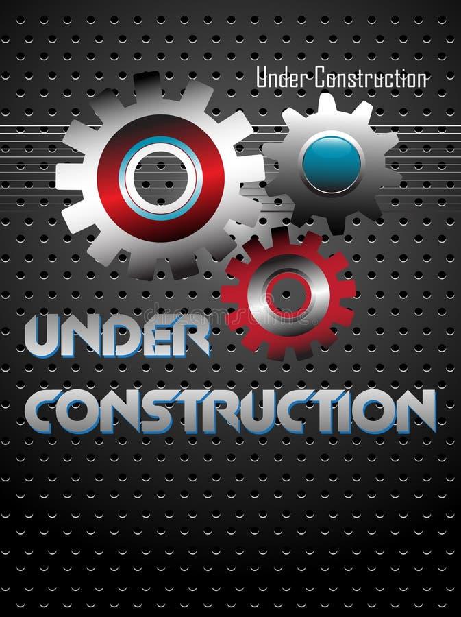 konstruktion under stock illustrationer