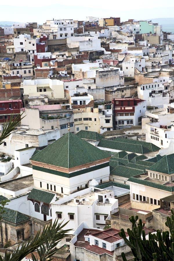 konstruktioner från höjdpunkt i byn royaltyfri bild
