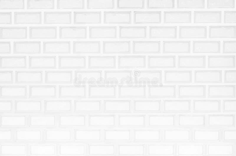 Konstruktionsbakgrund eller bakgrundtegelstenv?gg av vitabstrakt begreppstil arkivfoton