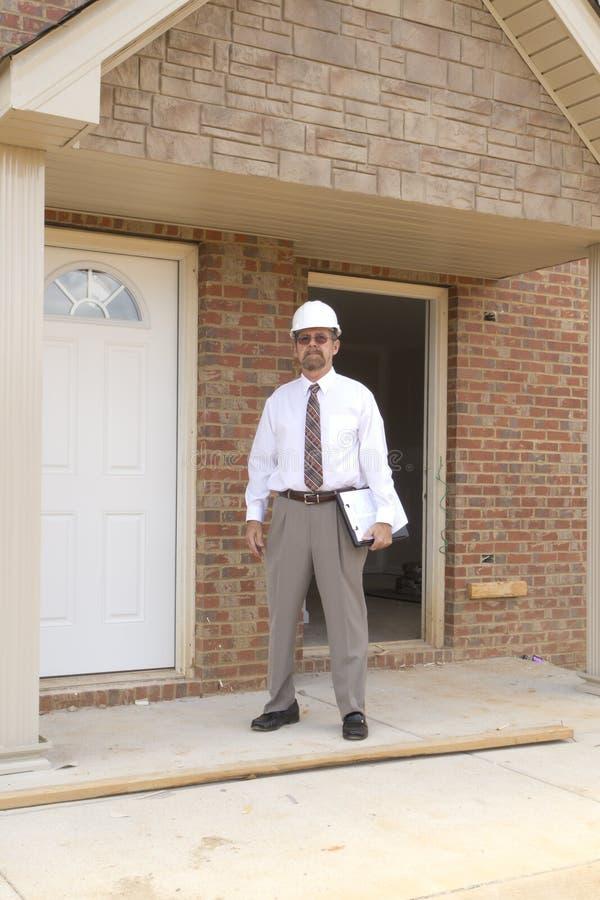 konstruktionsdirektörfinans arkivbild