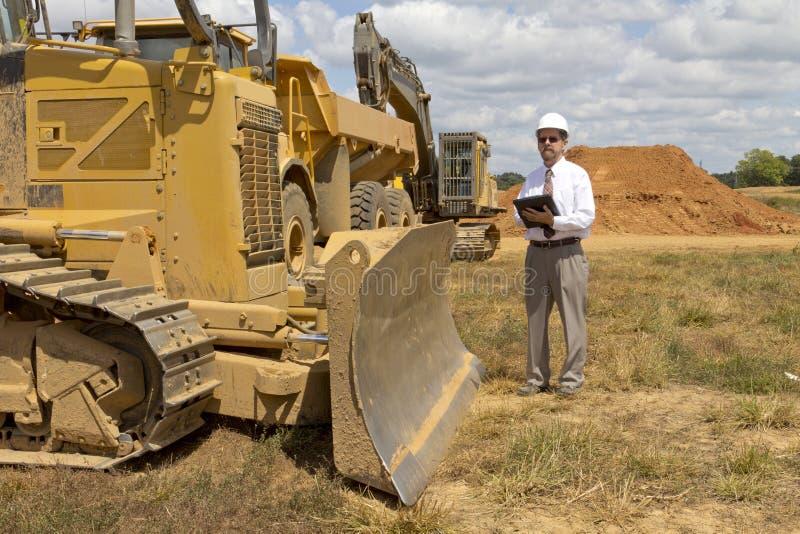 konstruktionsdirektörfinans arkivfoto