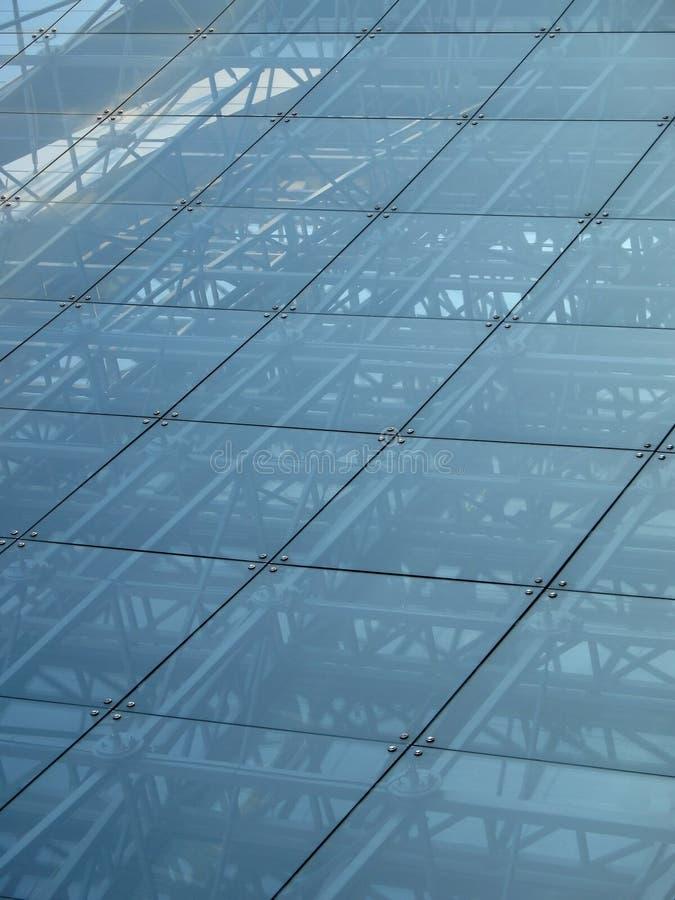 konstruktionsexponeringsglas arkivbild