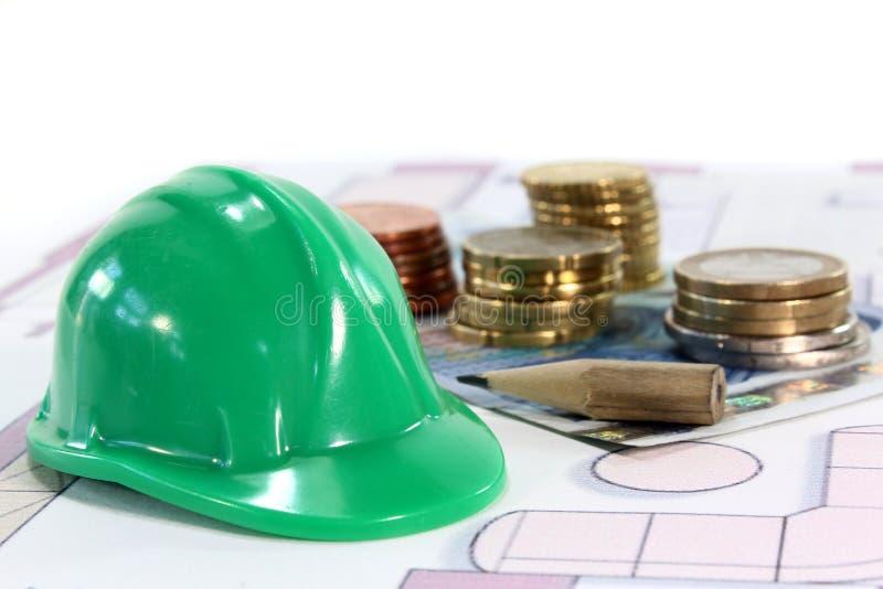 konstruktionsfinansiering arkivfoton